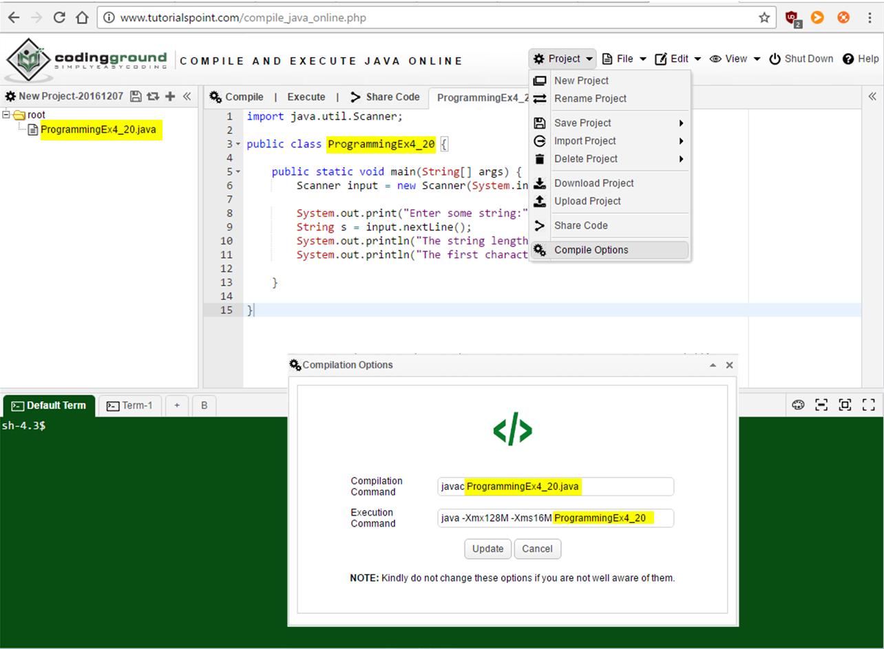 How to declare program as public class? (Beginning Java