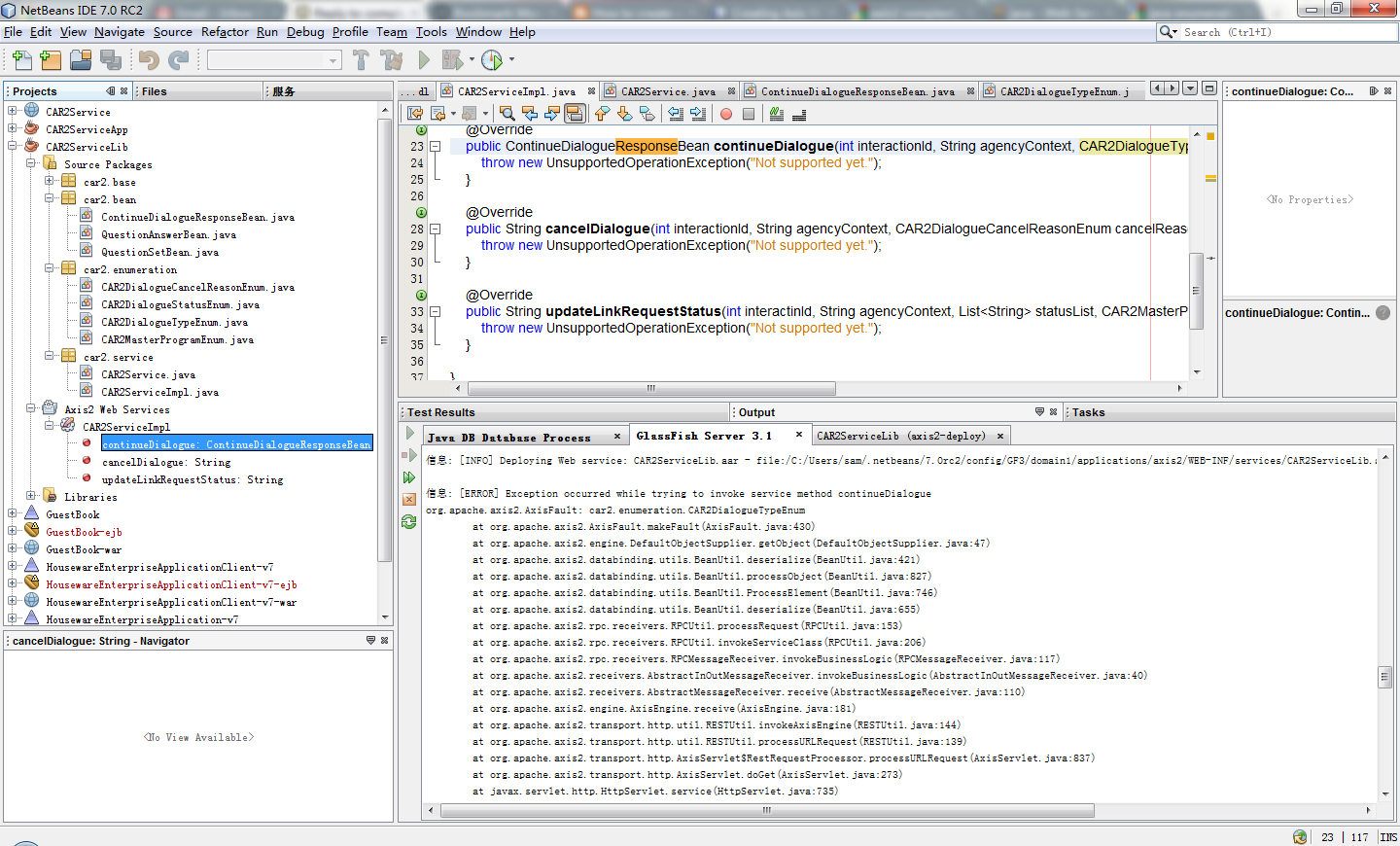 how to run form on netbeans
