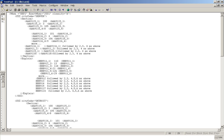 Как сделать xml по xsd
