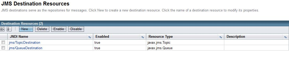 Unable to run Java SE Client that Sends Messages to a JMS