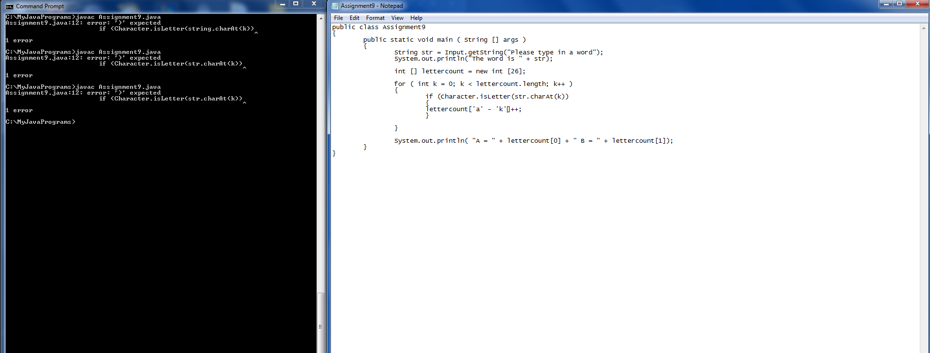 Help with a Programming assignment (Beginning Java forum at