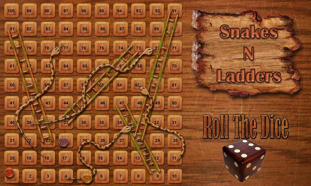 Design for my Android game : Snakes and ladders (Meaningless