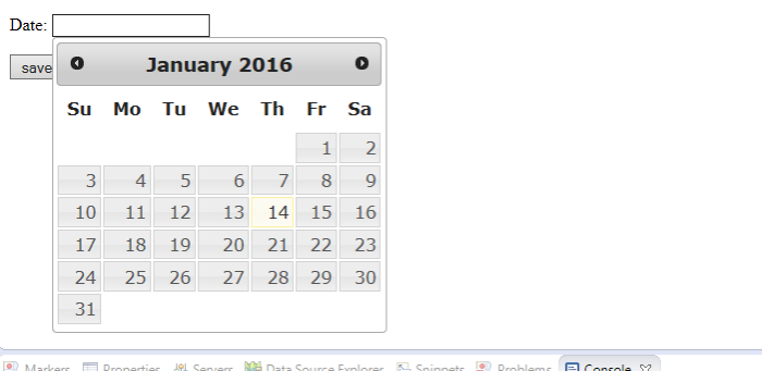 how calendar date uses in request getparameter()? (JSP forum