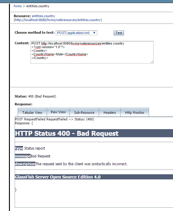 Bad request error When creating a new record (Web Services forum at