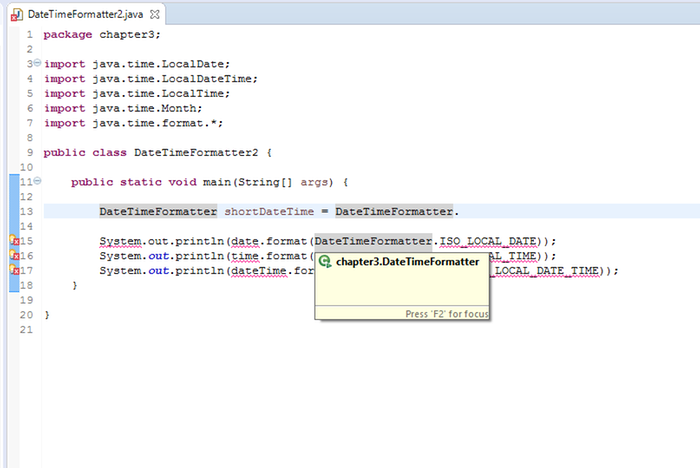 Java localdatetime parse iso