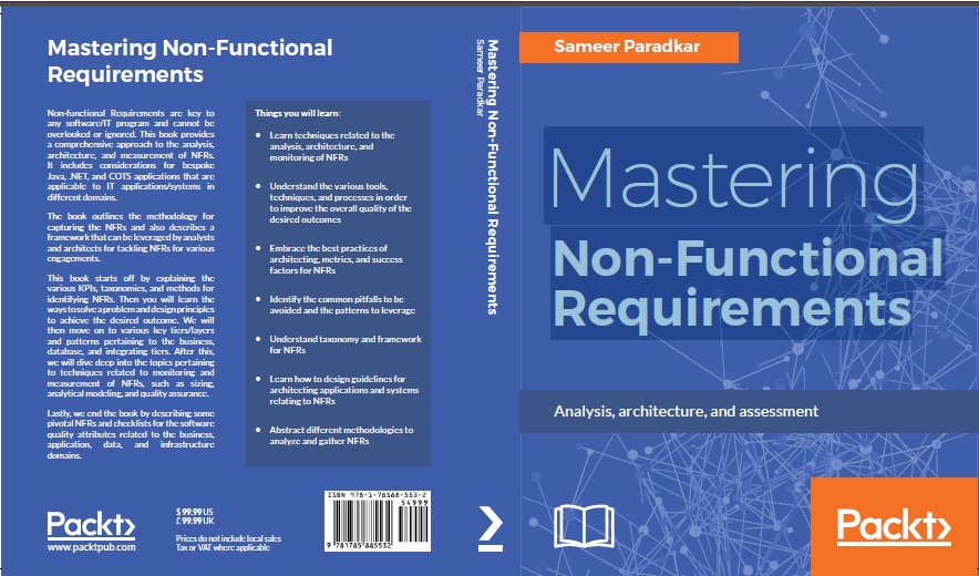 Title Mastering Non Functional Requirements Books Forum At Coderanch