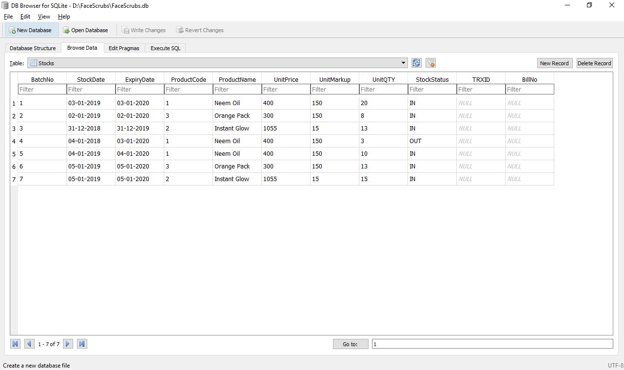 SQLite & JavaFX: Select Query to Find Outstanding Stocks